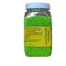Green Decorative Sprinkles (100 g, vanilla)