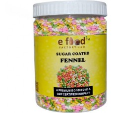 Sugar Coated Fennel 500 In Pet Jar Sweet Mouth Freshener (500 g)