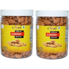 Almonds Regular Pack Of 2(500 gm Each) In Pet Jar Almonds (2 x 500 g)