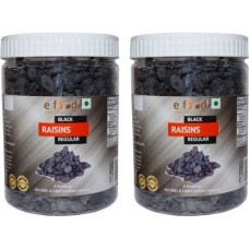Black Kishmish Regular Set Of 2 (500gm Each) In Pet Jar Raisins (2 x 500 g)