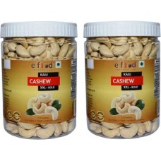 Cashew XXL Bold Set of 2(500gm Each) In Pet Jar Cashews (2 x 500 g)