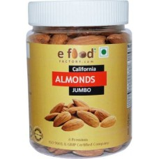 Almonds Jumbo 250 In Pet Jar Almonds (250 g)