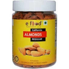 Almonds Regular (250) In Pet Jar Almonds (250 g)