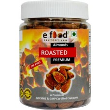 Roasted Salted Almonds Premium 250gm In Pet Jar Almonds (250 g)