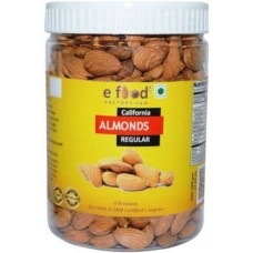 Almonds Regular (500) In Pet Jar Almonds (500 g)