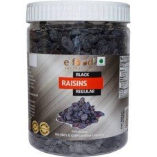 Black Kishmish (Raisins) Regular 500 In Pet Jar Raisins (500 g)