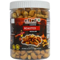Roasted Salted Cashew Regular 500 gm In Pet Jar Cashews (500 g)