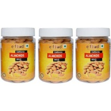California Almonds Bold Set of 3 (250gm Each) In Pet Jar Almonds (3 x 250 g)