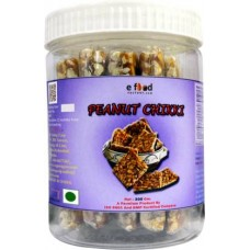 Peanut Chikki 300 gm in pet jar Mason Jar (300 g)